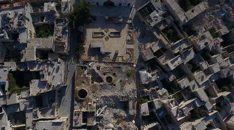 Kinh hoang canh tuong nhu bai tha ma o thanh pho Aleppo - Anh 2