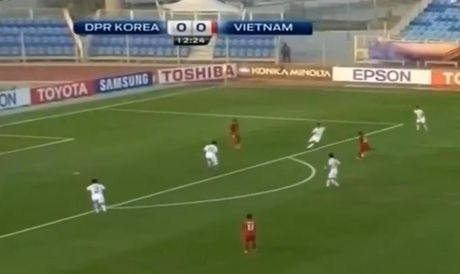 U19 Viet Nam thang bat ngo U19 CHDCND Trieu Tien - Anh 1