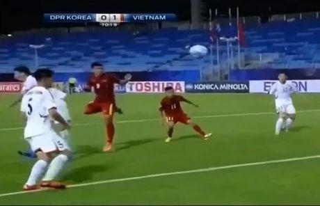 U19 Viet Nam thang bat ngo U19 CHDCND Trieu Tien - Anh 2