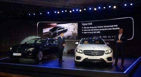 Mercedes-Benz E-Class 2017 ra mat thi truong Viet Nam - Anh 1