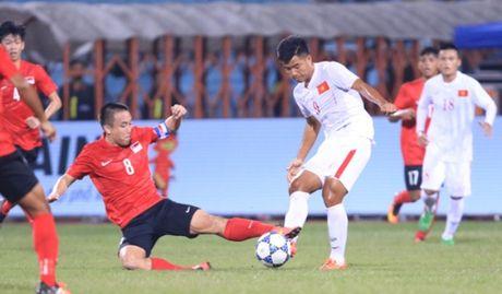 Xem truc tiep U19 Viet Nam 1-0 U19 Trieu Tien: Duc Chinh mo ty so - Anh 1