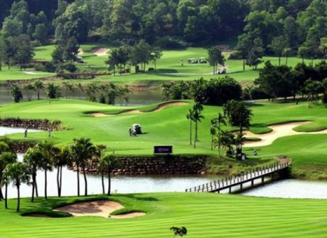 Xay dung Khu nha vuon du lich sinh thai va san tap golf Van Tao, huyen Thuong Tin - Anh 1