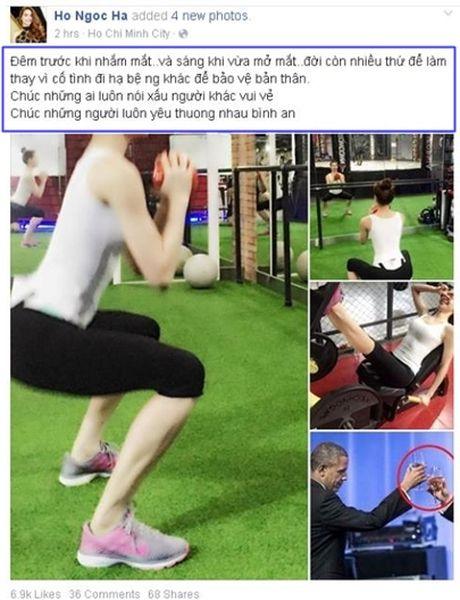 Nhung lan Ha Ho sau cay dap tra antifan - Anh 5