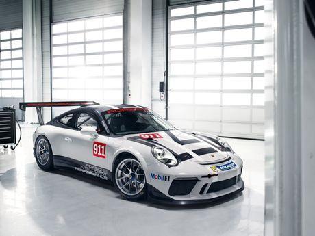 Xe dua ban chay nhat the gioi Porsche 911 GT3 Cup ra phien ban moi - Anh 1