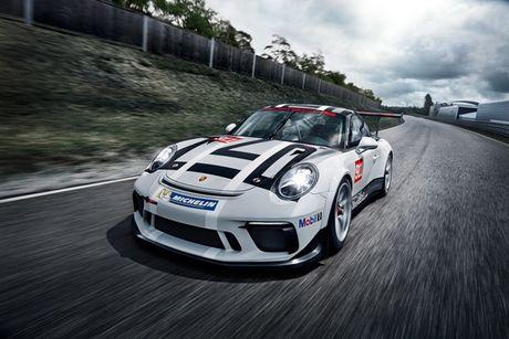Xe dua ban chay nhat the gioi Porsche 911 GT3 Cup ra phien ban moi - Anh 4