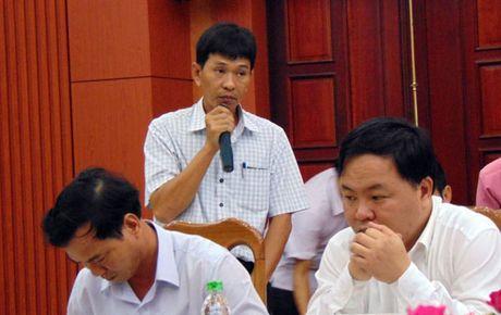 Quang Nam len tieng ve nha may luyen can thep dau nguon song Vu Gia - Anh 1