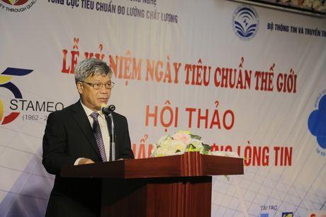 Ky niem Ngay Tieu chuan The gioi 14/10: 'Tieu chuan tao dung long tin' - Anh 1