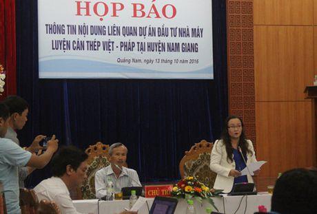 Tin chinh thuc ve nha may thep nghin ty o Quang Nam - Anh 1