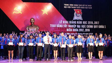 Hoc vien Thanh thieu nien Viet Nam: Mai truong dao tao lanh dao tre - Anh 1