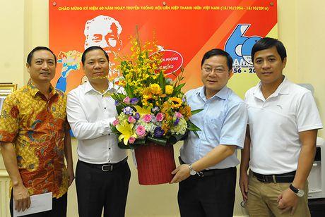 Bao Tien Phong chuc mung ngay truyen thong Hoi LHTN Viet Nam - Anh 1