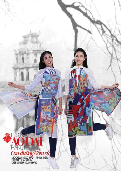 Festival ao dai Ha Noi - Festival cua nhung noi nho - Anh 12