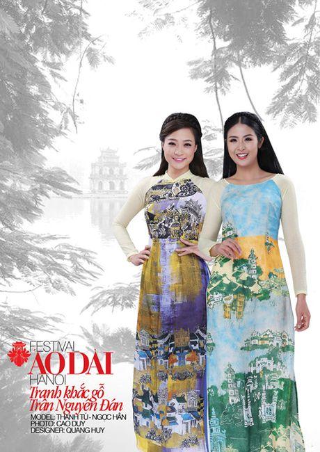 Festival ao dai Ha Noi - Festival cua nhung noi nho - Anh 2