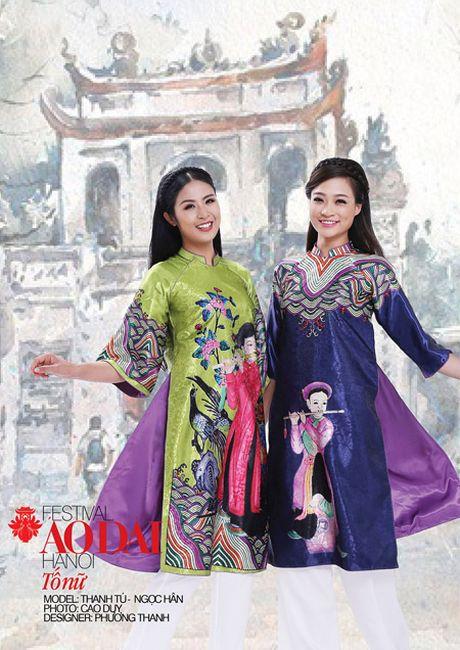 Festival ao dai Ha Noi - Festival cua nhung noi nho - Anh 7