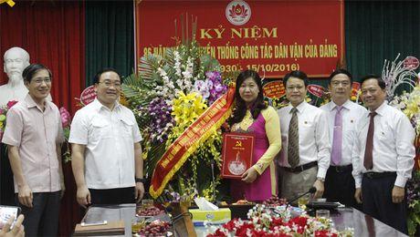 Lanh dao Thanh uy Ha Noi tham, chuc mung cac Ban xay dung Dang - Anh 1