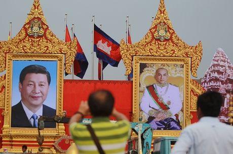 Chu tich Trung Quoc Tap can Binh lan dau tham 'bang huu' Campuchia - Anh 1