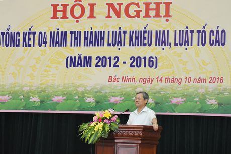 Bac Ninh: Tong ket 4 nam thi hanh Luat KN, Luat TC - Anh 1