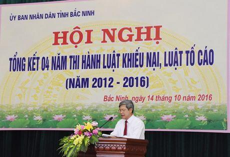 Bac Ninh: Tong ket 4 nam thi hanh Luat KN, Luat TC - Anh 2