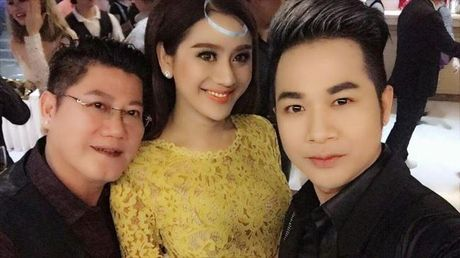 Lam Khanh Chi xinh dep, Ngoc Son 'nhay sung' mung sinh nhat Quach Tuan Du - Anh 4