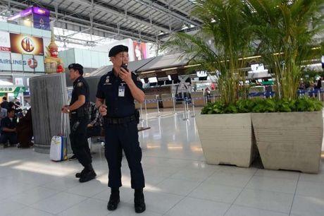 Thai Lan that chat an ninh san bay muc cao nhat - Anh 1