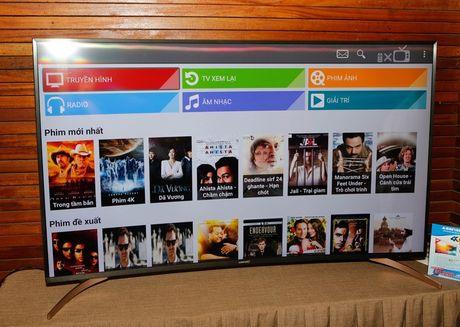 TV 4K man hinh cong thuong hieu Viet gia 22 trieu dong - Anh 1