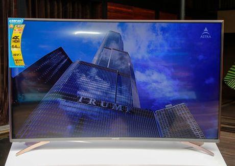 TV 4K man hinh cong thuong hieu Viet gia 22 trieu dong - Anh 2