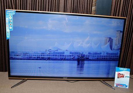 TV 4K man hinh cong thuong hieu Viet gia 22 trieu dong - Anh 8