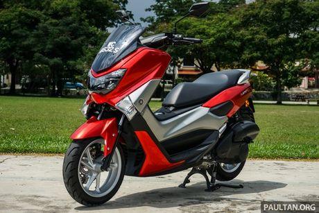 Xe tay ga the thao Yamaha NVX 150 se ban ra trong thang 10 - Anh 1