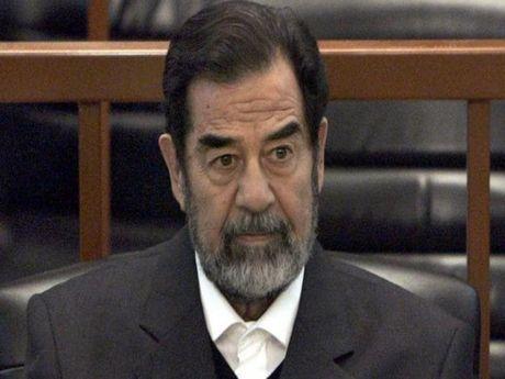 Saddam Hussein bi mat lap phong tra tan o My? - Anh 1
