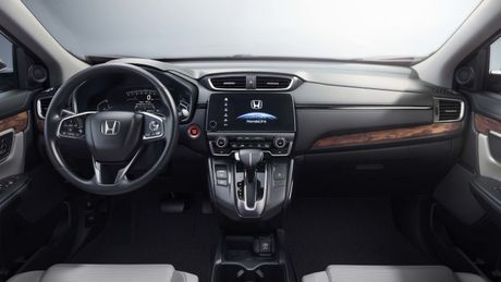 Honda CR-V 2017 ra mat: Vo mong xe 7 cho - Anh 3