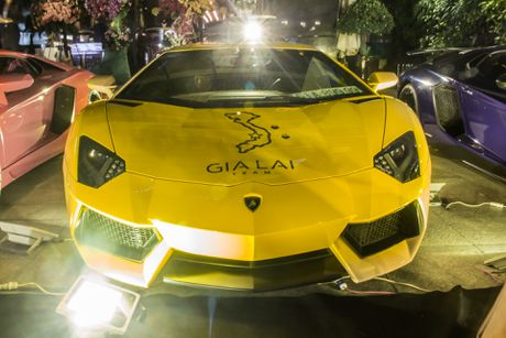 Lamborghini Aventador khac lua o Sai Gon - Anh 1