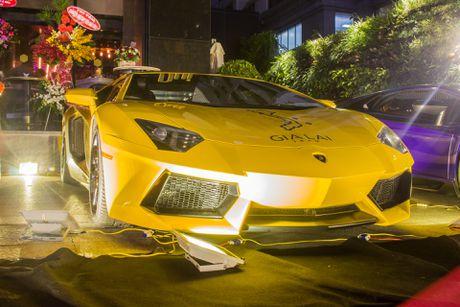 Lamborghini Aventador khac lua o Sai Gon - Anh 2