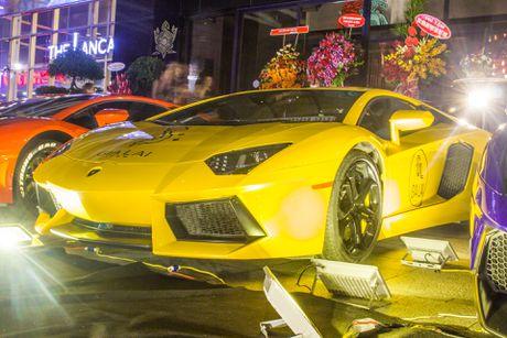 Lamborghini Aventador khac lua o Sai Gon - Anh 3
