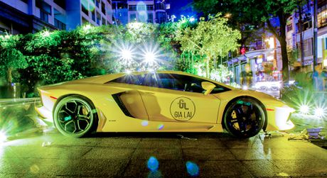 Lamborghini Aventador khac lua o Sai Gon - Anh 4