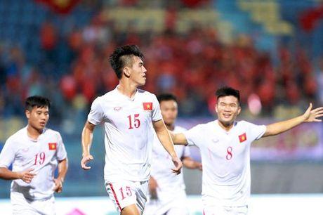 U19 Viet Nam - U19 Trieu Tien (H1): The tran chac chan - Anh 1