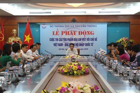 Phat dong cuoc thi viet 'Viet Nam qua trinh hoi nhap Quoc te' - Anh 1