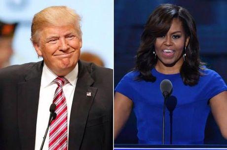 Phu nhan Obama 'bo tay' voi nhung chieu tro cua Donald Trump: 'Qua du roi. Hay dung lai di' - Anh 2