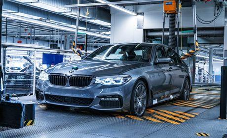 Ro ri hinh anh cua BMW 5-series 2017 - Anh 10