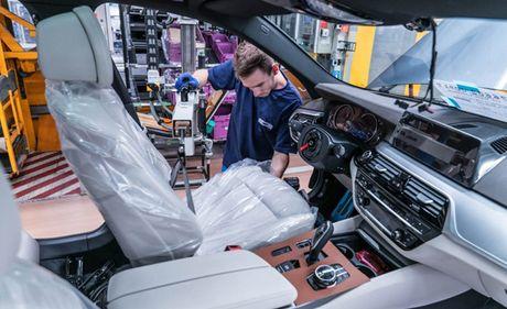 Ro ri hinh anh cua BMW 5-series 2017 - Anh 11