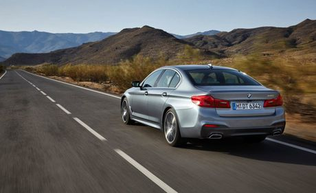 Ro ri hinh anh cua BMW 5-series 2017 - Anh 4
