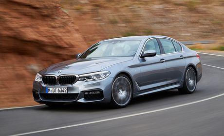 Ro ri hinh anh cua BMW 5-series 2017 - Anh 7
