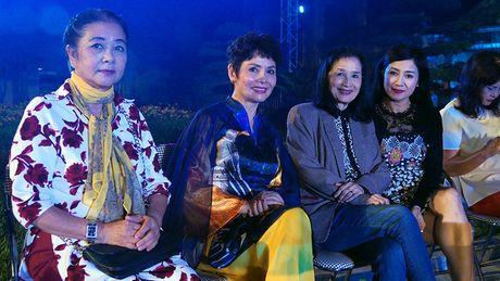 Nghe si hang dau lang dien anh lam 'nguoi mau' Festival ao dai Ha Noi - Anh 4