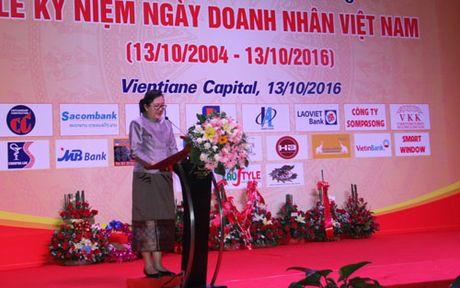 Ky niem ngay Doanh nhan Viet Nam tai Lao - Anh 1