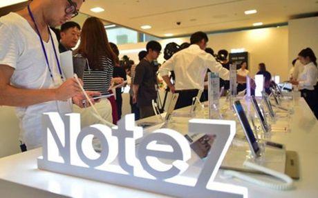 Samsung thiet hai 5,4 ty USD vi Note 7 - Anh 1