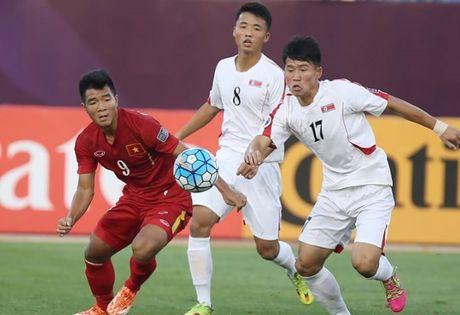 Clip U19 Viet Nam tao dia chan, ha guc U19 Trieu Tien - Anh 1