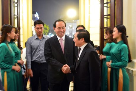 Toan canh le ton vinh Tu hao Nong dan Viet Nam 2016 - Anh 1