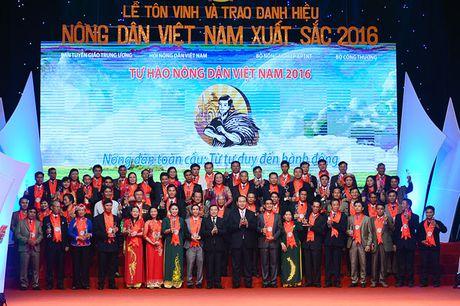 Toan canh le ton vinh Tu hao Nong dan Viet Nam 2016 - Anh 8