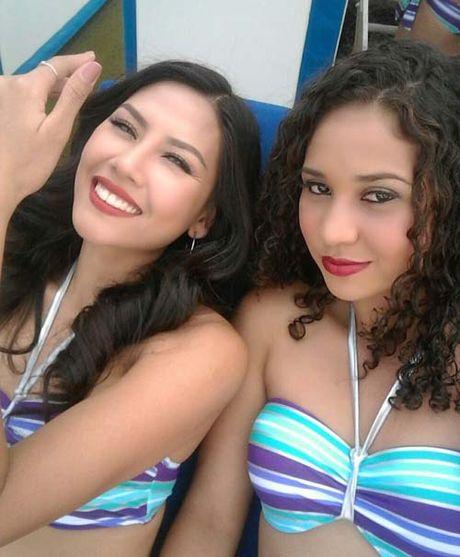Anh bikini 'dep mien che' cua A hau Nguyen Thi Loan thi sac dep o My - Anh 1