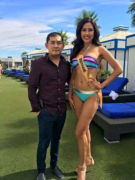 Anh bikini 'dep mien che' cua A hau Nguyen Thi Loan thi sac dep o My - Anh 4