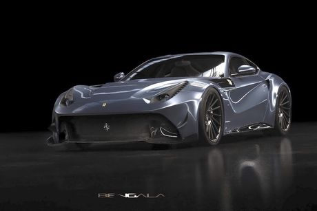 Sieu xe 'hang thua' Caballeria cua Ferrari F12Berlinetta - Anh 1