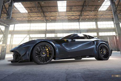 Sieu xe 'hang thua' Caballeria cua Ferrari F12Berlinetta - Anh 5